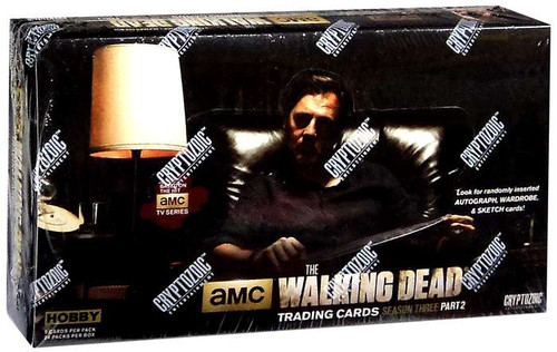 AMC TV The Walking Dead Season 3 Part 2 Trading Card Box