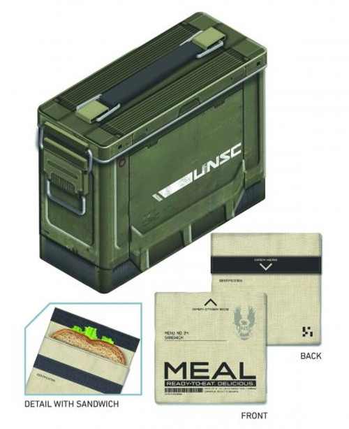 Halo Ammo Crate Lunch Box
