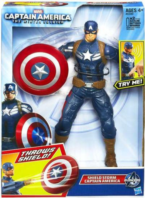 The Winter Soldier Shield Storm Captain America Action Figure