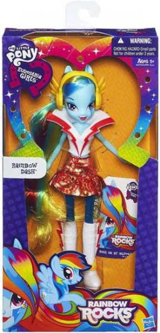 My Little Pony Equestria Girls Rainbow Rocks Basic Rainbow Dash 9-Inch Doll [Version 1]