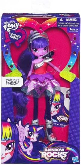My Little Pony Equestria Girls Rainbow Rocks Basic Twilight Sparkle 9-Inch Doll [Version 1]