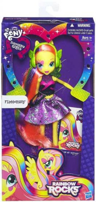 My Little Pony Equestria Girls Rainbow Rocks Basic Fluttershy 9-Inch Doll [Version 1]