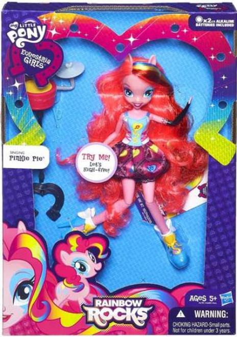 My Little Pony Equestria Girls Rainbow Rocks Deluxe Singing Pinkie Pie 9-Inch Doll