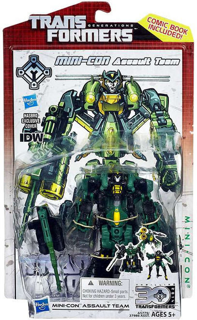 Transformers Generations 30th Anniversary Deluxe IDW Mini-Con Assault Team Deluxe Action Figure