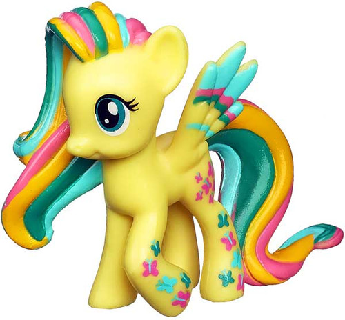 My Little Pony Friendship is Magic 2 Inch Rainbowfied Fluttershy PVC Figure
