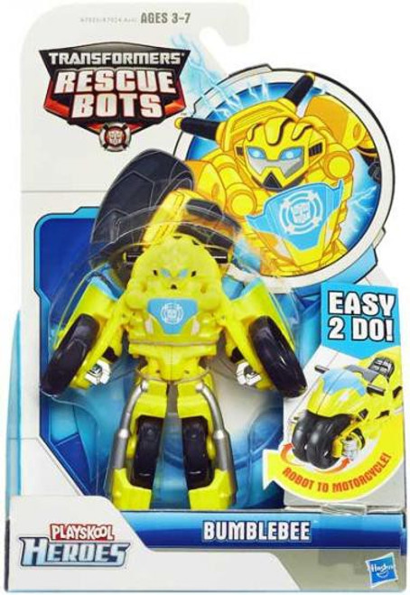 Transformers Playskool Heroes Rescue Bots Bumblebee Action Figure [Motorcycle,2014]