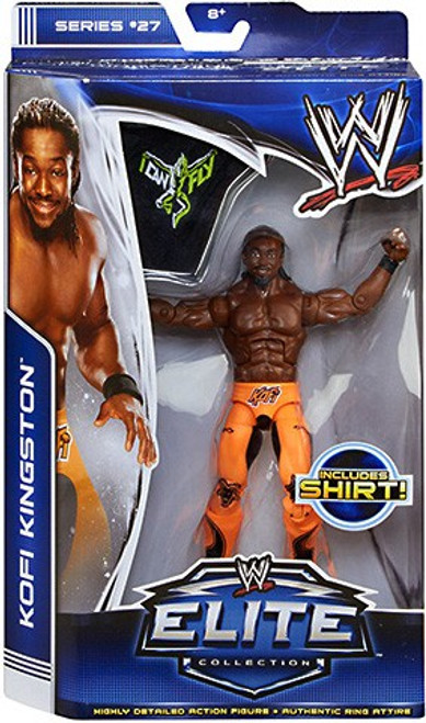 WWE Wrestling Elite Collection Series 27 Kofi Kingston Action Figure [Shirt]