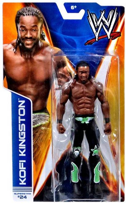 WWE Wrestling Series 38 Kofi Kingston Action Figure #24