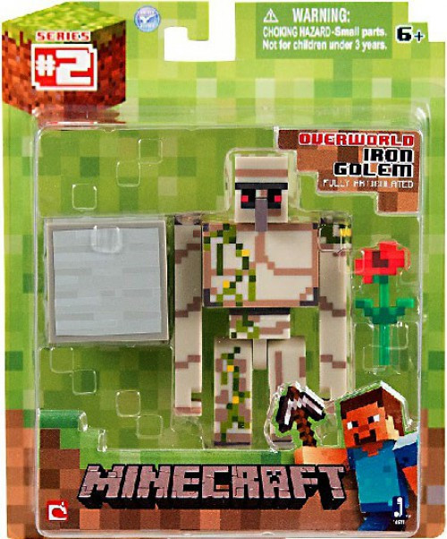Minecraft Series 2 Iron Golem Action Figure [Overworld]