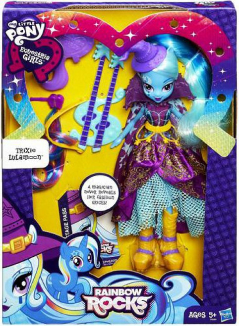 My Little Pony Equestria Girls Rainbow Rocks Deluxe Trixie Lulamoon 9-Inch Doll