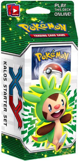 Pokemon Trading Card Game XY Kalos Basic Theme Deck [Chespin]