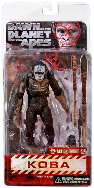 NECA Dawn of the Planet of the Apes Koba Action Figure