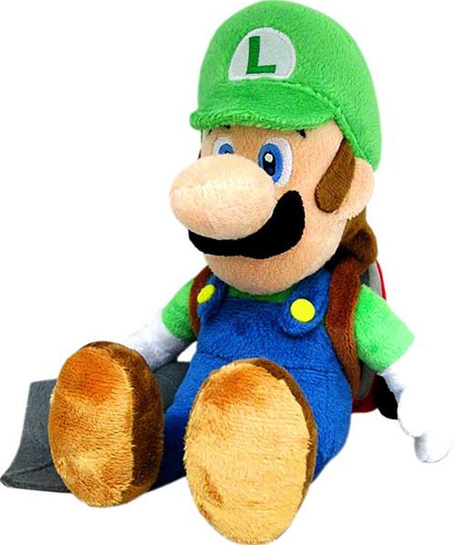 Super Mario Luigi 7-Inch Plush [Poltergust 5000]