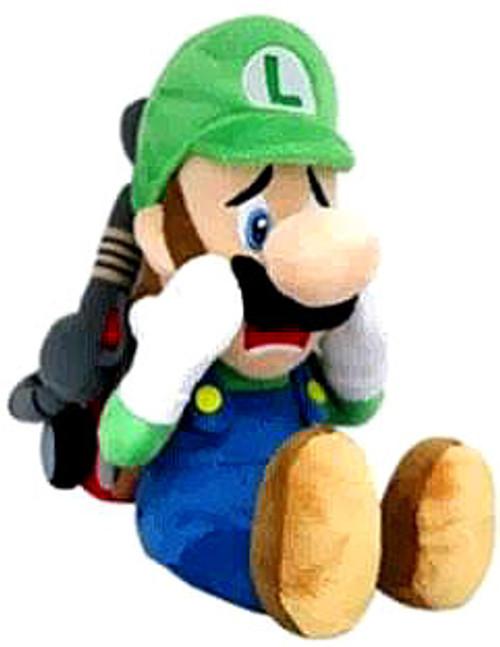 Super Mario Luigi 7-Inch Plush [Strobulb]
