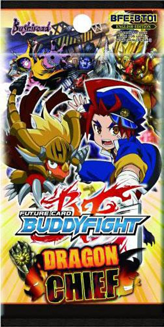 Future Card BuddyFight Trading Card Game Dragon Chief Booster Pack BFE-BT01 [5 Cards]