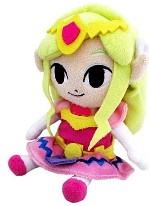 The Legend of Zelda Wind Waker Princess Zelda 8-Inch Plush