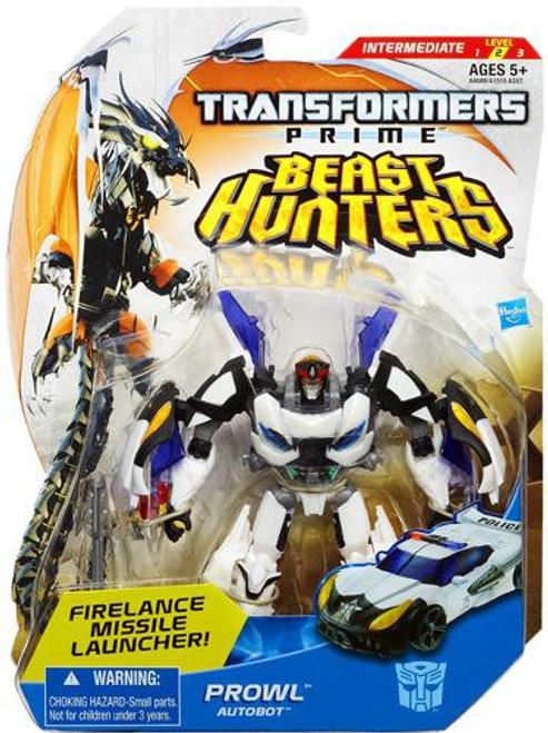 Transformers Prime Beast Hunters Prowl Deluxe Action Figure