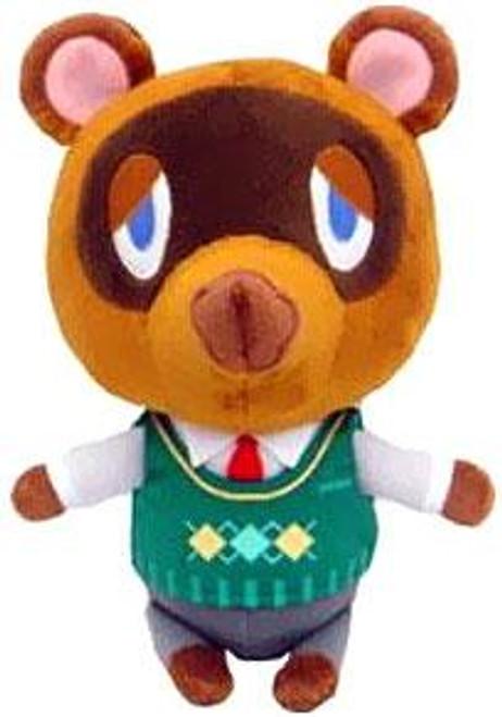Animal Crossing Tom Nook 7-Inch Plush