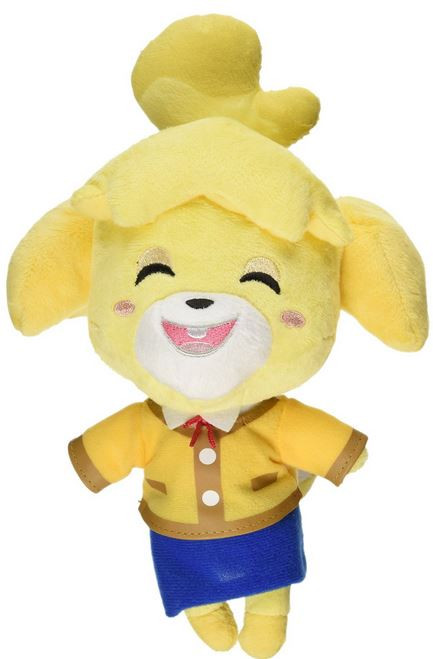 Animal Crossing Isabelle 6-Inch Plush [Smiling] (Pre-Order ships January)