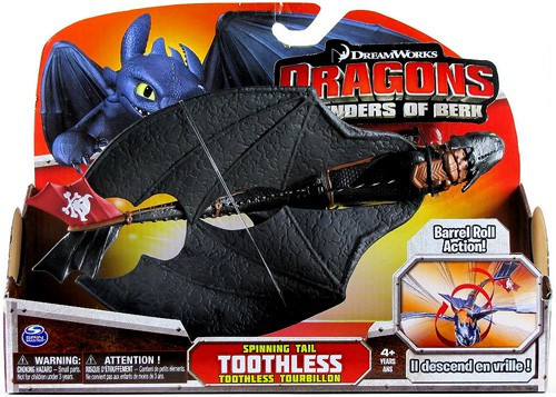 How to Train Your Dragon Defenders of Berk Toothless Action Figure [Night Fury, Spinning Tail Action]