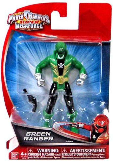 Power Rangers Super Megaforce Green Ranger Action Figure