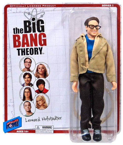 The Big Bang Theory Retro Style Leonard Action Figure