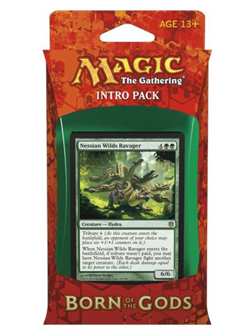 MtG Trading Card Game Born of the Gods Insatiable Hunger Intro Pack