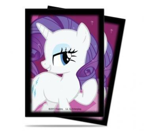 Ultra Pro My Little Pony Trading Card Game Rarity Deck Protector Small Card Sleeves [65 Count]