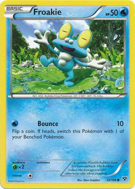 Pokemon Trading Card Game XY Base Set Common Froakie #39