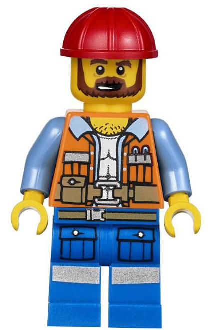 The LEGO Movie Frank the Foreman Minifigure