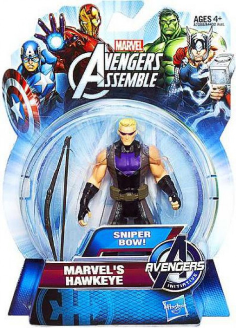 Avengers Assemble Marvel's Hawkeye Action Figure [Sniper Bow]