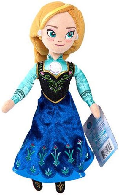 Disney Frozen Talking Bean Bag Anna 8-Inch Plush Doll
