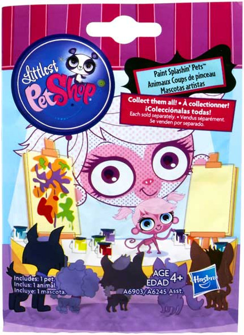 Littlest Pet Shop 2014 Series 1 Paint Splashin' Pets Mystery Pack