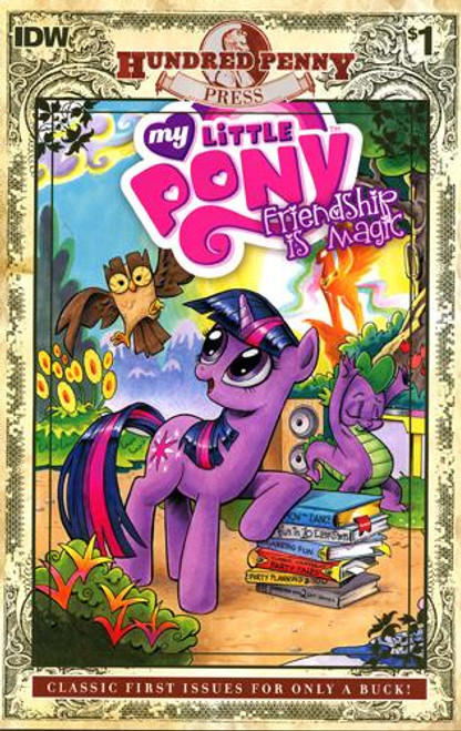 My Little Pony Friendship is Magic #1 Comic Book [Hundred Penny Press Edition]