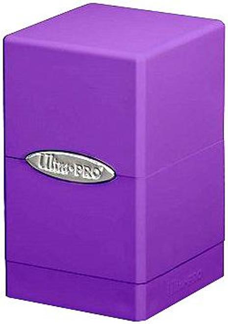 Ultra Pro Card Supplies Satin Tower Purple Deck Box