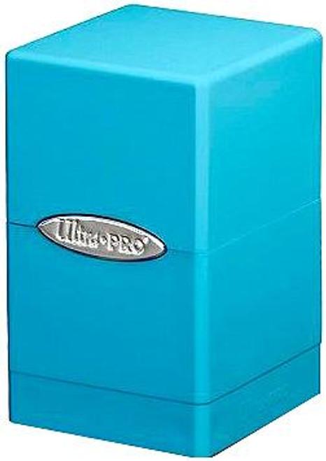 Ultra Pro Card Supplies Satin Tower Light Blue Deck Box [Version 2]