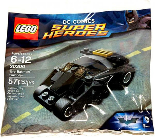 LEGO DC Universe Super Heroes The Batman Tumbler Mini Set #30300 [Bagged]