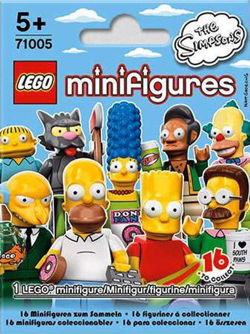 LEGO Minifigures The Simpsons Series 1 Mystery Pack #71005