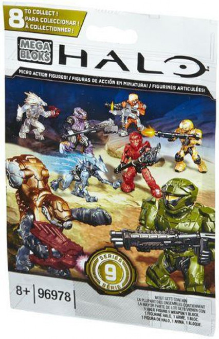 Mega Bloks Halo Series 9 Minifigure Mystery Pack [1 RANDOM Figure]