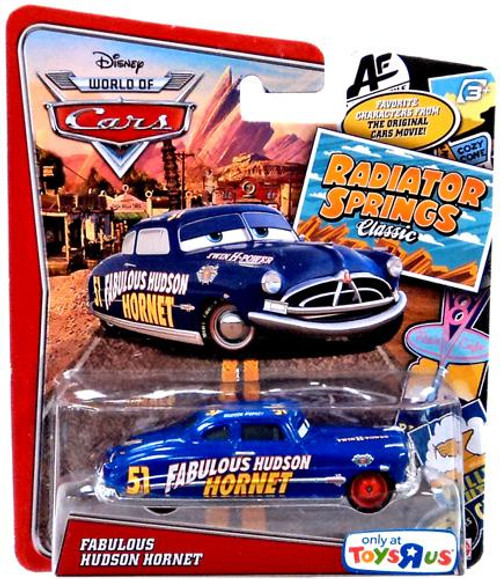 Disney / Pixar Cars The World of Cars Radiator Springs Classic Fabulous Hudson Hornet Exclusive Diecast Car