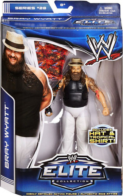 WWE Wrestling Elite Collection Series 28 Bray Wyatt Action Figure [Hat & Tropical Shirt]