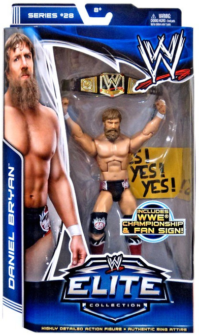 WWE Wrestling Elite Collection Series 28 Daniel Bryan Action Figure [WWE Championship & Sign]