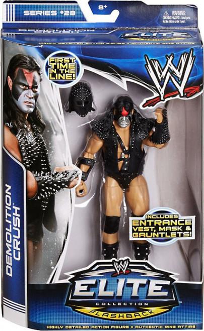 WWE Wrestling Elite Collection Series 28 Demolition Crush Action Figure [Entrance Vest, Mask & Gauntlets]