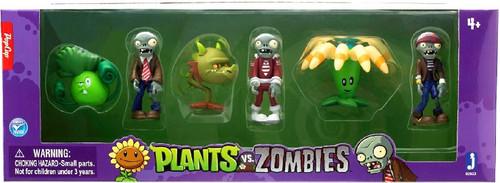 Plants vs. Zombies Mini Figure 6-Pack