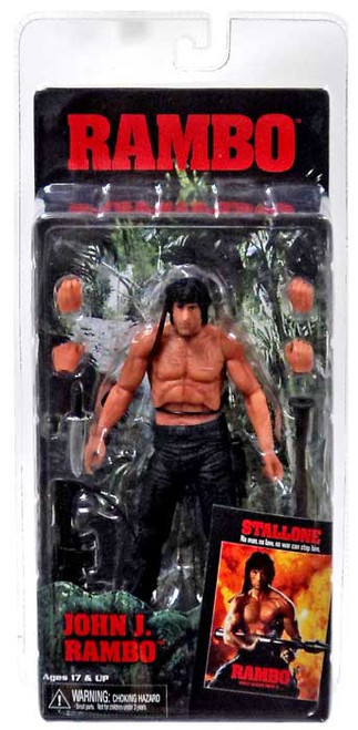 NECA First Blood Part II Rambo Action Figure