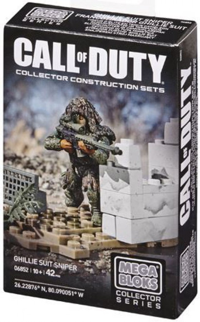 Mega Bloks Call of Duty Ghilly Suit Sniper Set #06852