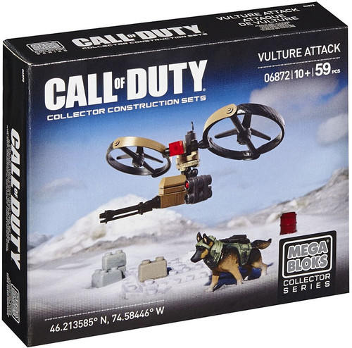 Mega Bloks Call of Duty Vulture Attack Set #06872