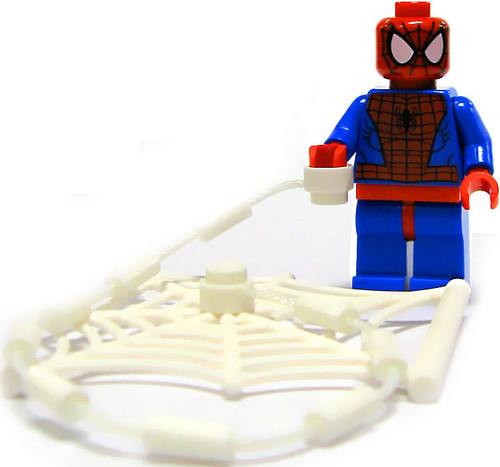 LEGO Marvel Super Heroes Spider-Man Minifigure [With Webs Loose]