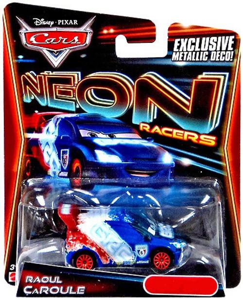 Disney / Pixar Cars Neon Racers Raoul Caroule Exclusive Diecast Car [Metallic Deco]
