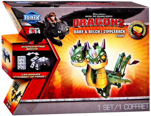 How to Train Your Dragon 2 Ionix Barf & Belch Zippleback #20005